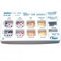 4200 Набор Дисков ОптиДиск (OptiDisc) - 8 видов по 30 шт. + 5 дискодерж. + 1 шетка оптишайн / KERR