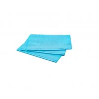 Салфетки для пациентов двуслойные (слой бумаги + слой п/э) ELE Green (Китай), 500 шт./упак. цв. ГОЛУБОЙ