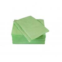 Салфетки для пациентов двуслойные (слой бумаги + слой п/э) ELE Green (Китай), 500 шт./упак. цв. ЗЕЛЕНЫЙ