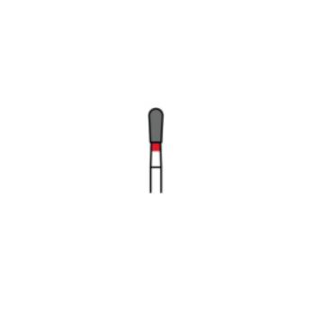 830-021F - Алмазные боры грушевидные - EX-21F, (упаковка 5 шт) / Prima Dental