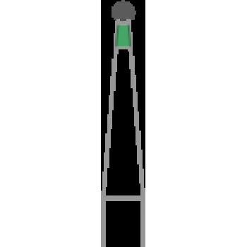 801-008C - Алмазные боры шаровидные - BR-49C, (упаковка 5 шт) / Prima Dental