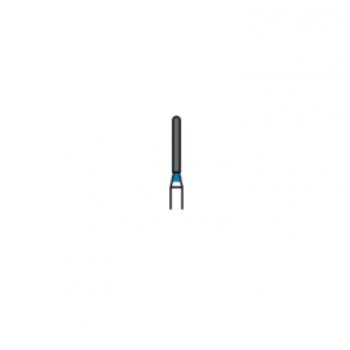 881-010M - Алмазные боры цилиндр закругленный, (упаковка 5 шт) / Prima Dental