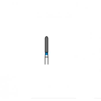 881-016M - Алмазные боры цилиндр с закругленным концом - SR-13M, (упаковка 5 шт) / Prima Dental