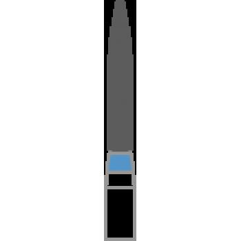 862-012M - Алмазные боры пламя удлиненное - FO-42M, (упаковка 5 шт) / Prima Dental