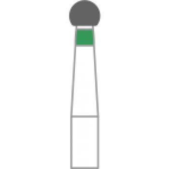 801-018C - Алмазные боры шаровидные - BR-31C, (упаковка 5 шт) / Prima Dental