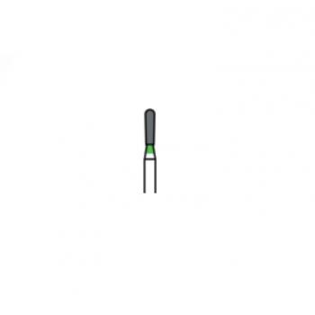 830L-014C - Алмазные боры грушевидные - EX-31C, (упаковка 5 шт) / Prima Dental
