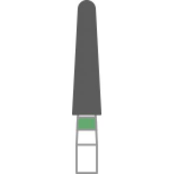 856-022C - Алмазные боры конус с закруглённым концом- TR-14C, (упаковка 5 шт) / Prima Dental