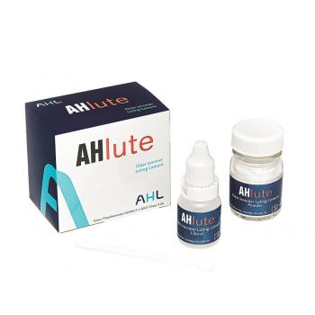 AH Lute - стеклоиономерный цемент для фиксации ортопедических конструкций - 15 гр. + 7 мл. (Аналог Fuji 1)