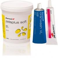 Зета Плюс Софт (Zetaplus Soft VL intro kit) набор - (база 900 мл + oranwash vl 140 мл + indurent gel 60 мл) / Zhermack