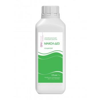 Макси-Дез концентрат - 1 литр - дезинфицирующее средство