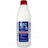МультиДез - 1 литр - концентрат - дезинфекция и мытье поверхностей