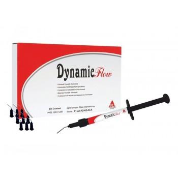 Динамик Флоу (Dynamic Flow), набор 5 шприцев по 2 гр., (A1,A2,A3,B2,B3) / President Dental Germani