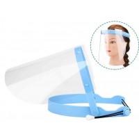Экран защитный для лица прозрачный (10 сменных экранов + 1 оправа)