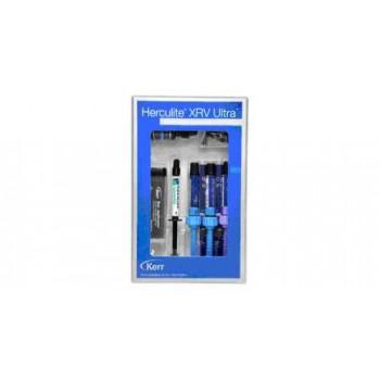 Геркулайт Ультра Мини кит (Herculite XRV Ultra Mini kit) - 3 шприца по 3 гр, оптибонд соло 3 мл, протр.гель / KERR