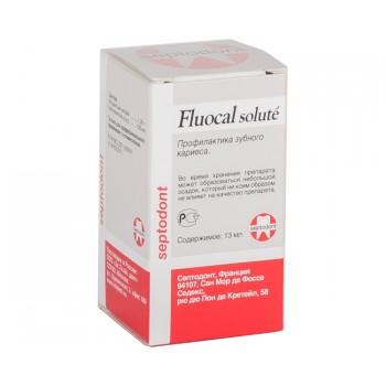 Флюокаль - жидкость для лечения гиперестезии зубов и профилактики кариеса (13 мл) (SEPTODONT)