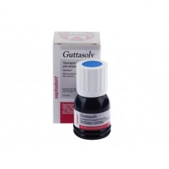 Гуттасольв (SEPTODONT) - жидкость для расплом-и/гуттаперчи 13 мл.