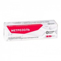 Метрозоль - паста 8 гр. / Омега