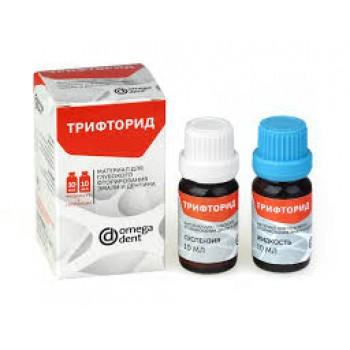 Трифторид - материал для глубокого фторирования эмали и дентина / Омега