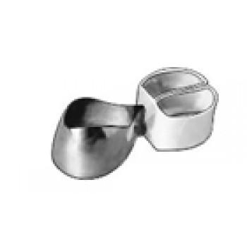 1.542 Матрицы контурные металлические с фиксирующим устройством для премоляров (форма 2) - ТОР ВМ