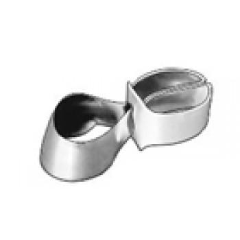 1.543 Матрицы контурные металлические с фиксирующим устройством для премоляров (форма 3) - ТОР ВМ