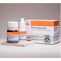 Полиакрилин для реставрации, Для детской стоматологии, 10 гр. + 8 гр., цвет Cиний / Техно-Дент