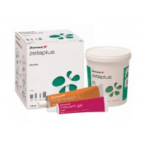Зета плюс (ZETA PLUS) , слепочная масса, набор (база 900мл. + Oranwash 140мл. + indurent gel  60мл.) / Zhermack
