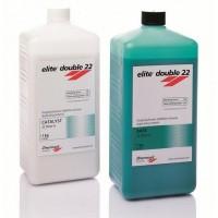 ELITE DOUBLE - Элит Дабл 22 Normal  1+1 кг А-силикон для дублирования  моделей / Zhermack