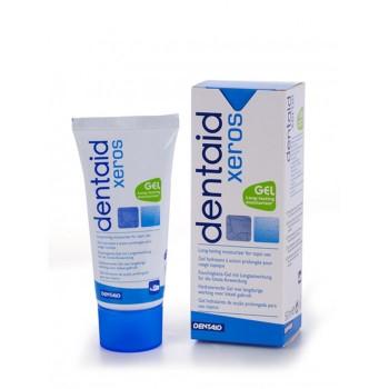 Гель для мягкий тканей полости рта Dentaid® Xeros для моментального устранения симптома сухости полости рта, со фтором 1500ppm. Вкус: мята