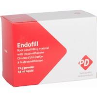Эндофил (ENDOFILL) материал с дексаметазоном для пломбирования каналов, 15г + 15мл (PD)