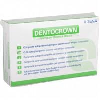 Дентокраун (DentoCrown) - цвет А3 - материал для изготовления временных зубных коронок, мостов, вкладок и накладок - ITENA