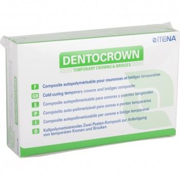 Дентокраун (DentoCrown) - цвет А2 - материал для изготовления временных зубных коронок, мостов, вкладок и накладок - ITENA