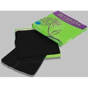 Блоссом (Blossom) - Латексные листы для коффердама 152х152мм /цвет: Черный, 36 листов/упак.