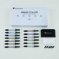 Эстелайт Колор (Estelite Color) - набор 13 шприцев по 0,9 г / Tokuyama Dental
