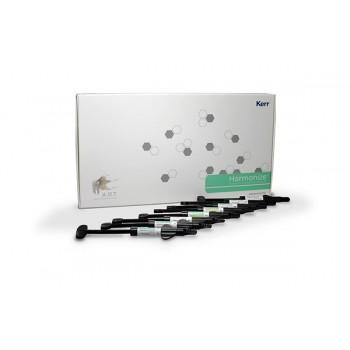 Гармонайз большой набор (Harmonize Advance Kit), 8 шприцев по 4 гр. (ЭА2,ЭА3,ДА2,ДА3,ДА4, прозрачный, прозрачный янтарный, прозрачный серый) / KERR