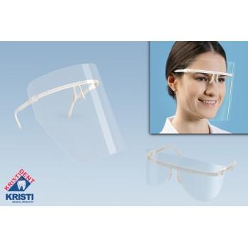 Экран защитный для лица прозрачный (5 сменных экранов + 1 оправа) КристиДент