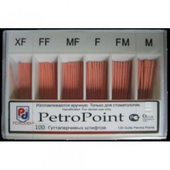 Гуттаперча дополнительная Петропоинт (Petropint) - размер XF