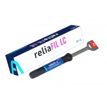 ReliaFIL LC (РелиаФил) - композит светового отверждения, оттенок А2, шприц 4 гр.