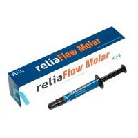 reliaFlow Molar - релиаФлоу Моляр - текучий светоотверждаемый рентгеноконтрастный композитный материал, оттенок А2, шприц 2 гр.