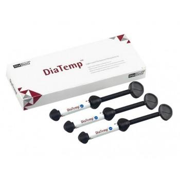 ДиаТемп (DiaTemp) - временный пломбировочный материал, 3 шприца по 3 гр. / DiaDent