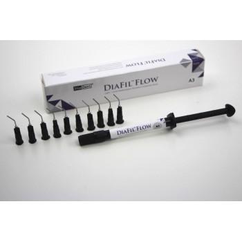 Диафил Флоу (Diafil Flow) - Жидкотекучий светоотверждаемый реставрационный композит, оттенок B2 / шприц 2 гр. - DiaDent