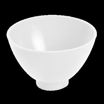 Чаша эластичная зуботехническая, для замешивания гипса, 400 мл, цвет БЕЛЫЙ / Целит