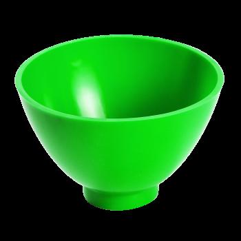 Чаша эластичная зуботехническая, для замешивания гипса, 400 мл, цвет ЗЕЛЕНЫЙ / Целит