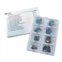 Соф-Лекс (Sof-Lex) - 240 шт - диски полировочные №1980 / 3M ESPE