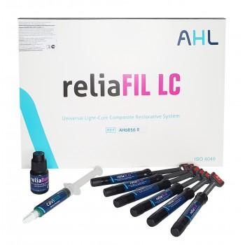 РелиаФИЛ ЛСи (reliaFIL LC) - набор 6 шприцев + бонд (цвета: A1, A2, A3, A3.5, B2, A2О) / AHL