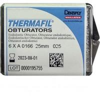 Термафил (Thermafil) -  25 мм - №25 - 6 шт / Maillefer