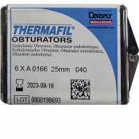 Термафил (Thermafil) -  25 мм - №40 - 6 шт / Maillefer