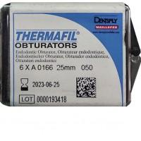 Термафил (Thermafil) -  25 мм - №50 - 6 шт / Maillefer