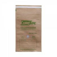 Крафт-пакет самозапечатывающийся с индикатором 100х200мм (100шт), ЕвроТайп