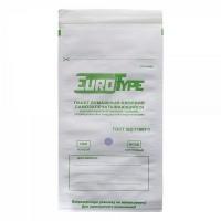 Пакет белый влагопрочный самозапечатывающийся с индикатором 150х280мм - 100шт. / ЕвроТайп