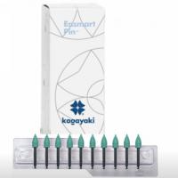 Кагаяки Энсмарт Пин (Kagayaki Ensmart Pin) - конус - цвет Зеленый (силикон), средняя 70, уп: 10 штук